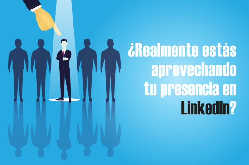 aprovechar presencia LinkedIn redes sociales