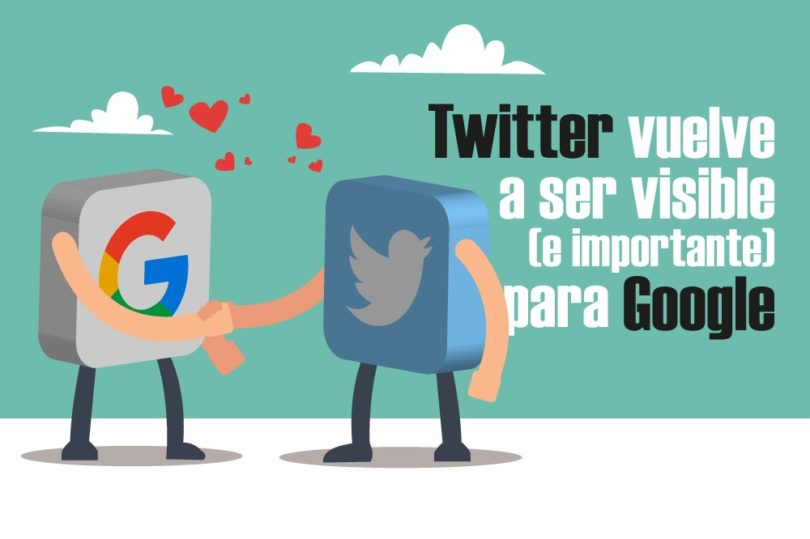 Twitter visibilidad búsquedas Google Todo sobre Redes